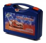 Аптечка первой помощи автомобильная (синий чемоданчик)