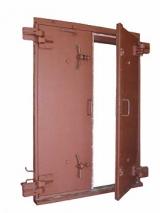 Ворота защитно-герметические, тип ВУ-I-2