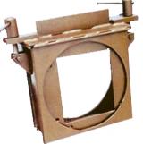 Коробка УЗ-3 для противовзрывной защитной секции (унифицированной) – УЗС-1