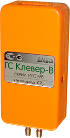 Газоанализатор КЛЕВЕР-В, ТЕХНОЛОГИЧЕСКИЙ 0 - 100 %, ПЕРЕНОСНОЙ ГАЗОАНАЛИЗАТОР КИСЛОРОДА.