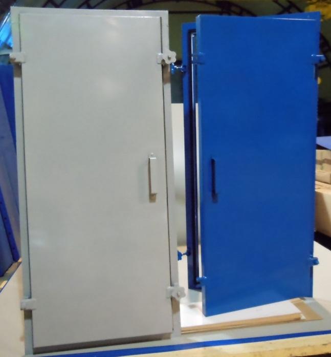 Дверь герметическая утепленная ДУ 1,25х0,5