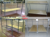Комплект 1 сторонний, 2-х уровневый (крепление в потолок нерегулируемый подголовник на 2-ом ярусе) зависит от высоты потолка