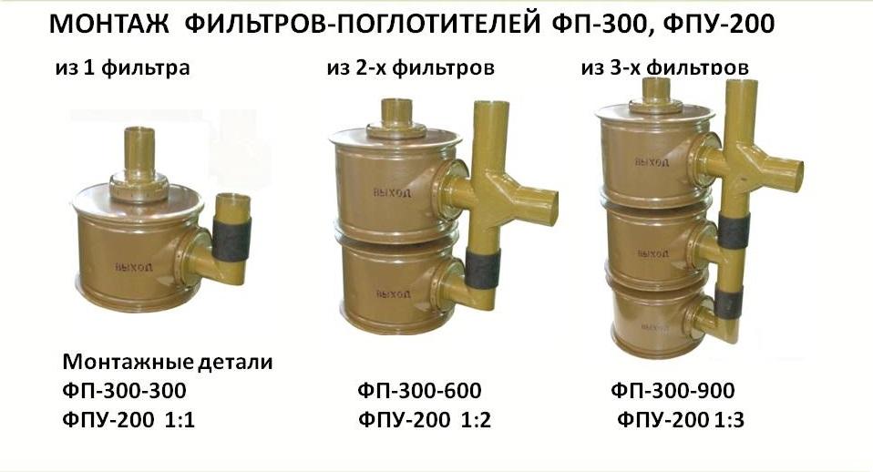 Монтажные детали к ФП-300 1:1