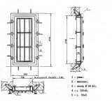 Дверь для установки фильтров типа ФЯРБ