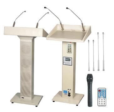 M-430UR Звуковая трибуна автономная с 2мя беспроводными микрофонами, mp3 плеером и диктофоном