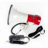 MG-220 DSD Мегафон ручной наплечный 25Вт, выносной микрофон, сирена, разъем внешнего питания 12В