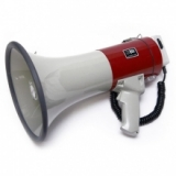MG-220 DSW Мегафон ручнойнаплечный 25Вт, выносной микрофон, сирена, разъем внешнего питания 12В